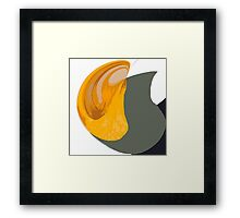 Pitcher Abstract Framed Print