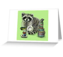 Master of Dishes Greeting Card