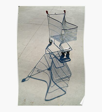 Shopping Trolly,Grovedale Geelong Poster