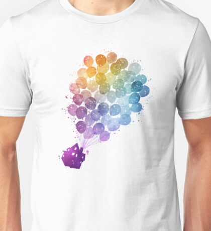 Up - Watercolor Unisex T-Shirt