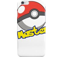 Pokémon Master iPhone Case/Skin