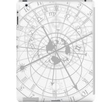 astronomical clock with zodiac signs iPad Case/Skin