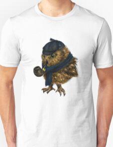 Sherlock // owl Unisex T-Shirt
