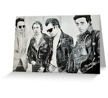 The Clash Greeting Card
