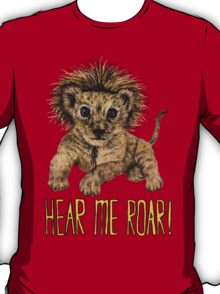 Hear me Roar! // lion T-Shirt