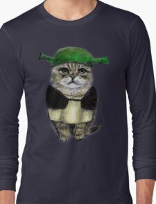 My owner is an IDIOT Long Sleeve T-Shirt
