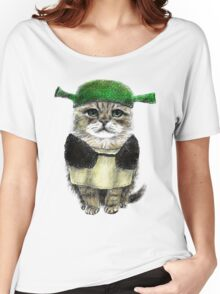My owner is an IDIOT Women's Relaxed Fit T-Shirt