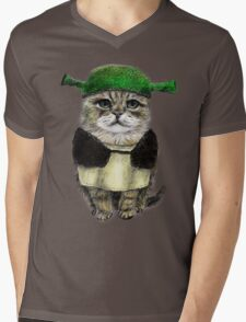 My owner is an IDIOT Mens V-Neck T-Shirt