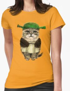 My owner is an IDIOT Womens Fitted T-Shirt