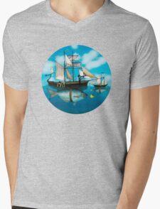 Sea Journey Mens V-Neck T-Shirt