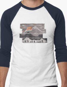 Into the Grey... Men's Baseball ¾ T-Shirt