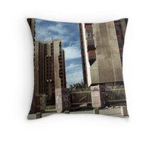 Haifa Street Apartments Throw Pillow