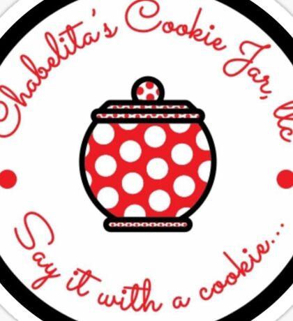 Chabelita's Cookie Jar Sticker Sticker
