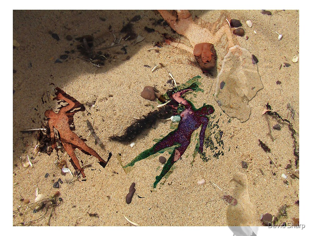Beach Girls by David Sharp