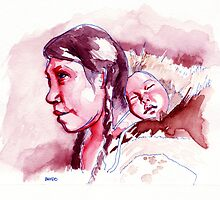 A Mother Strives by BnvdoArts