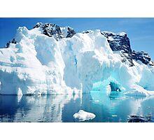 Magic Ice Cave Photographic Print