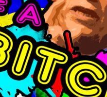 Arnie Declaration! Sticker