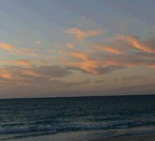Sunset at Port Beach by Sandra Chung