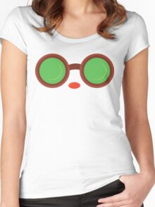 Ziggs Goggles League of Legends Women's Fitted Scoop T-Shirt