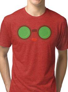 Ziggs Goggles League of Legends Tri-blend T-Shirt
