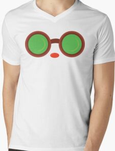 Ziggs Goggles League of Legends Mens V-Neck T-Shirt