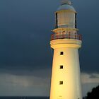 Twilight Rain, Cape Otway Lightstation by Joe Mortelliti