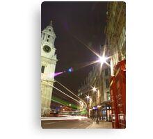 London / Bus / St. Pauls, England, UK * Canvas Print
