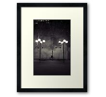 Lonesome outpost Framed Print