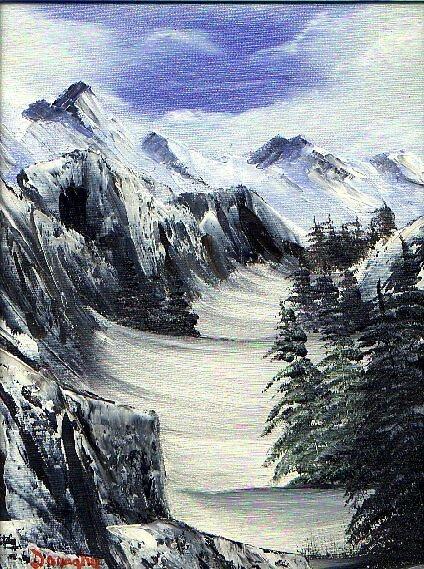 Mountains by davedon
