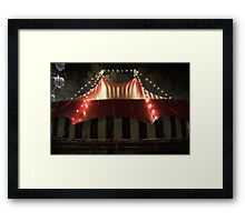 Comedy big top Framed Print