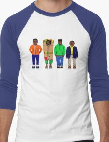 Cool Runnings to Calgary Men's Baseball ¾ T-Shirt