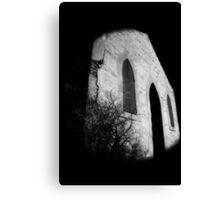 abandoned church Broken Hill infrared Canvas Print