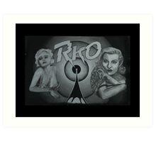 RKO feat. Jean Harlow and Lana Turner Art Print