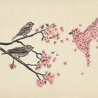 Blossom Bird  by Terry  Fan