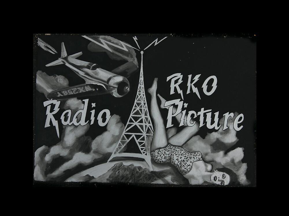 Howard Hughes Radio Picture feat. Ava Gardner by Tom Dunn
