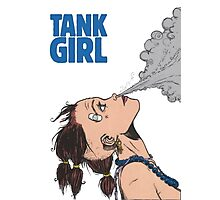 Tank Girl Photographic Print