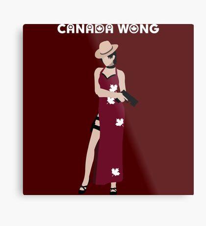 Can-Ada Wong Metal Print