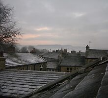 WINTER ROOFTOPS, HAWORTH by NorthernWitch