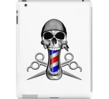 Barber Skull and Scissors iPad Case/Skin