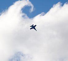 Hornet in the clouds by David Burren