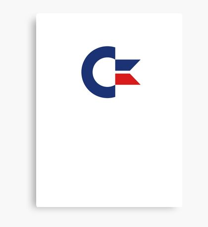 commodore logo Canvas Print