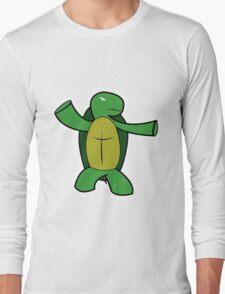 Badass Franklin Long Sleeve T-Shirt
