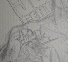 50 Cent - I got Spider man high I made Batman fly Sticker