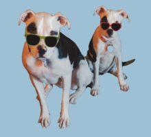 Nothings merrier than a Pitbull Terrier! Kids Tee