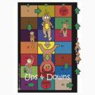 Ups & Downs Tee Design by Jennifer N. Heibloem