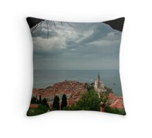 Piran, Slovenia Throw Pillow