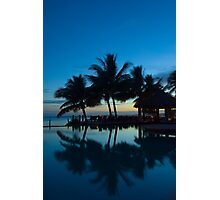 Sunrise in Tropical Fiji Photographic Print