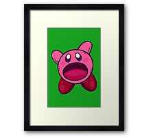 Hungry Hungry Kirby Framed Print