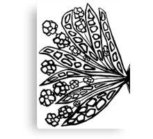 Pen work Canvas Print
