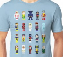 8-Bit Super Heroes 2: The Mutant-ing! Unisex T-Shirt